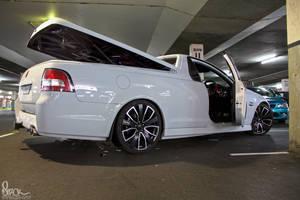 White Holden VE Ute