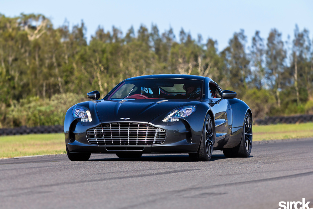 GOTHAM Aston Martin One-77 by small-sk8er