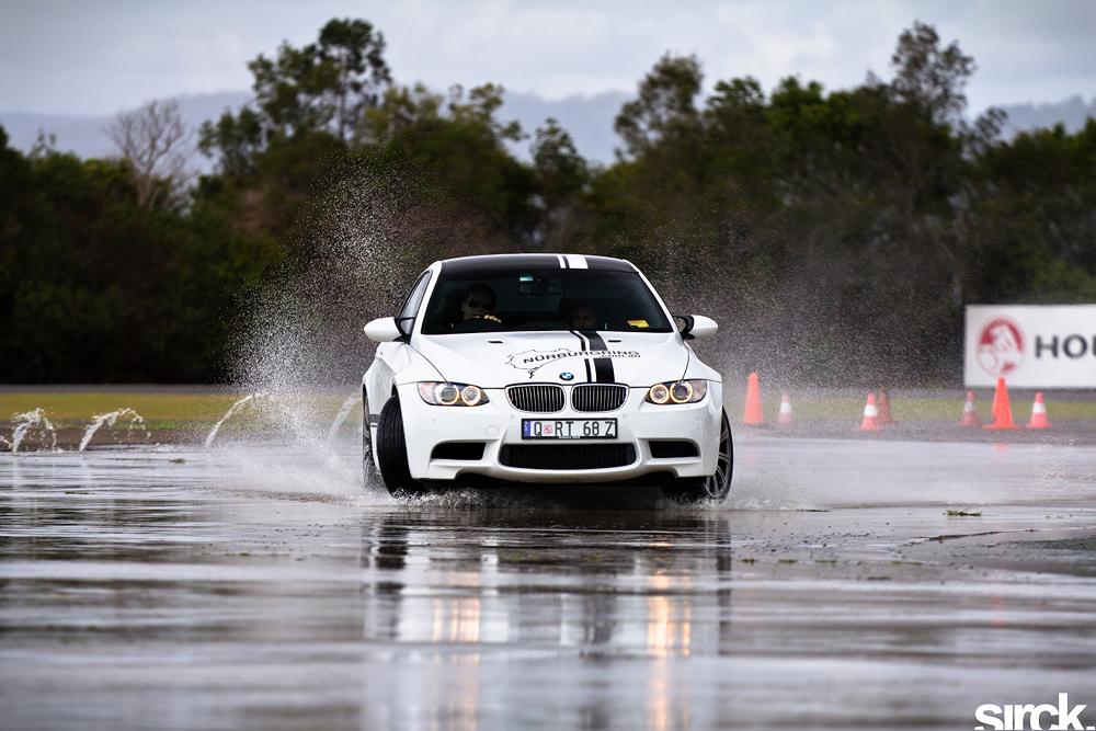 BMW Skidpan