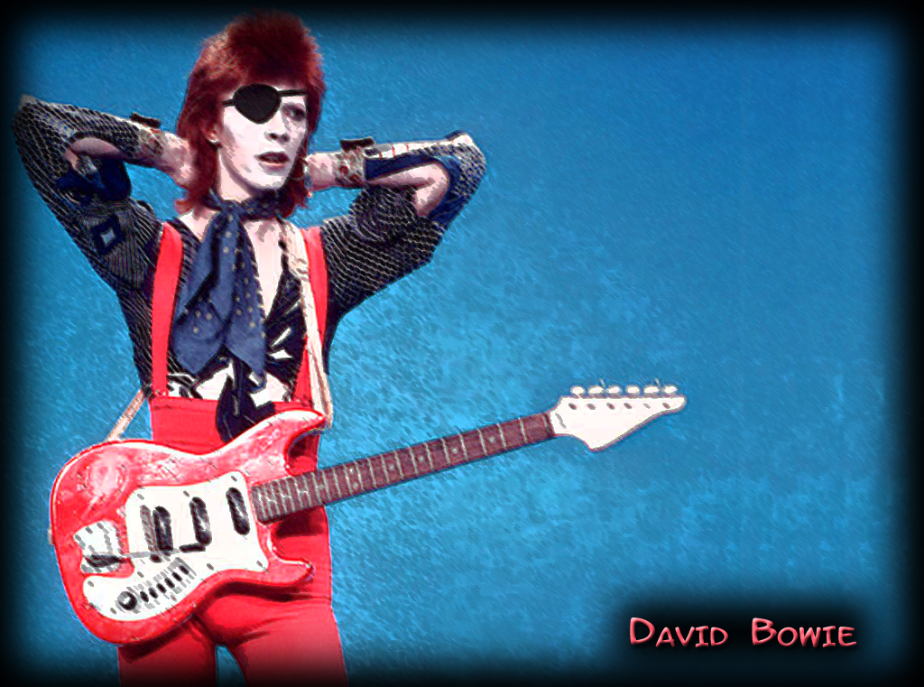 Ziggy Stardust Wallpaper by Jellydalek on DeviantArt  David Bowie Ziggy Stardust Wallpaper