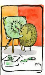 Busy Fruits - Kiwi by ideal-crash