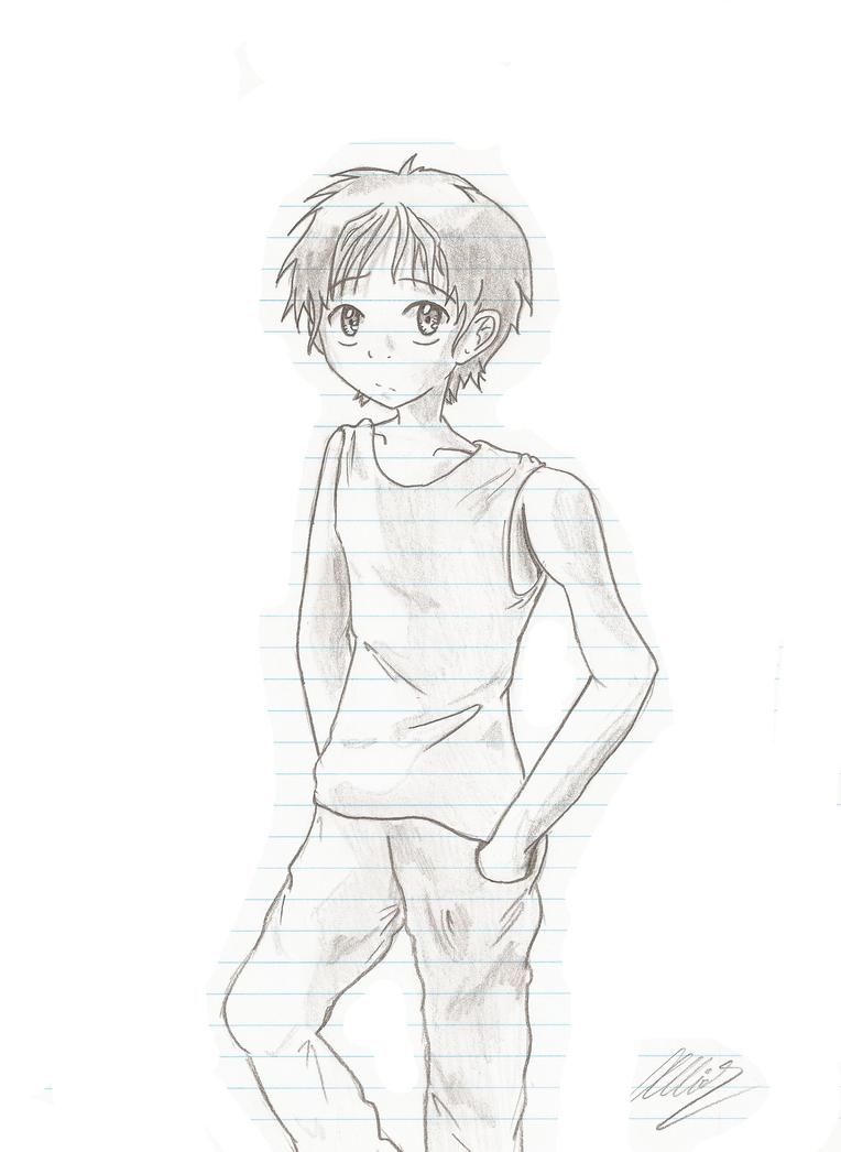 Boy Sketch By Jesusfreaksrwe On Deviantart
