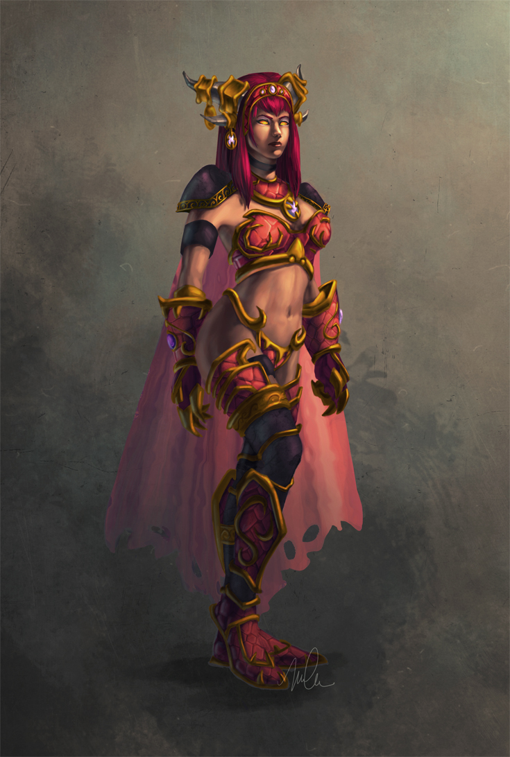 Alexstrasza the Life-Binder by megillakitty