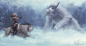 The Huntress and the Yeti