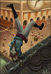 Thief! by megillakitty