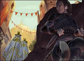 Kian - Assassin by megillakitty