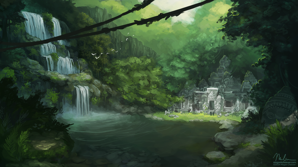 Temple by megillakitty