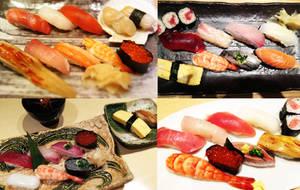 I love sushi by nyokoa
