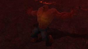 Burning Heart scene render (3 of 3) by JV-Andrew
