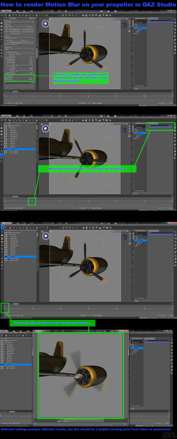 Render Blurred Propeller in DAZ Studio by JVAndrew on t