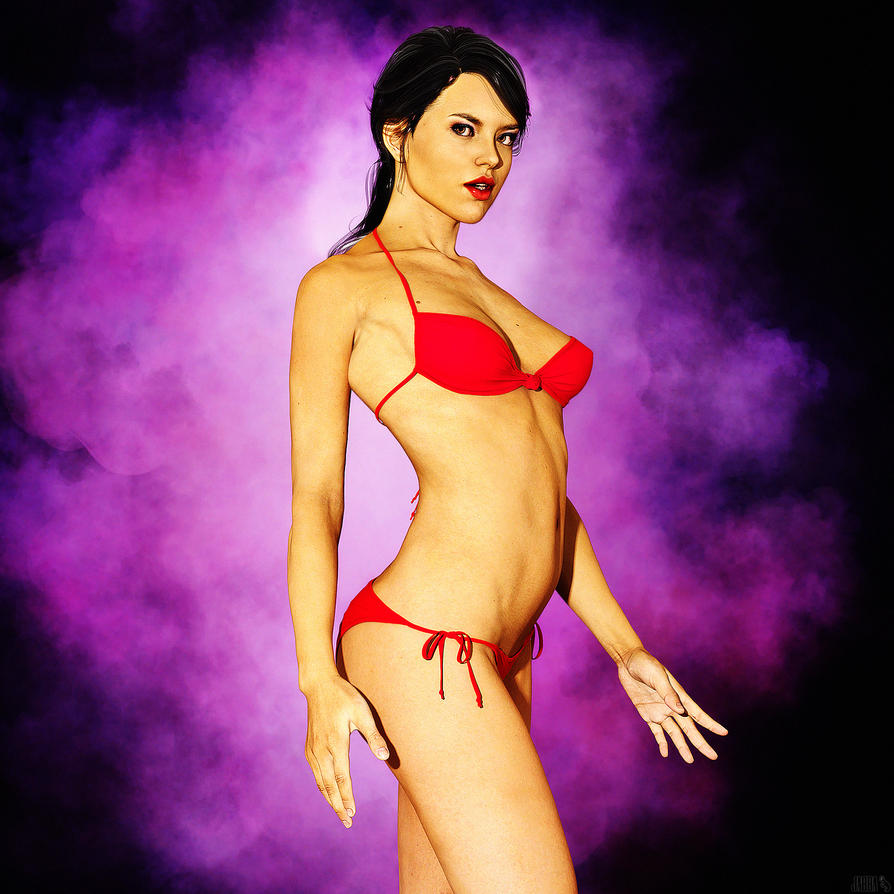 Stephanie 6 Iray by JV-Andrew