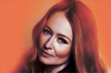 Affinity Photo Portrait Test - Miranda Otto by JV-Andrew
