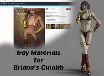 Iray for Briana's Culaith (V4 clothing set) by JV-Andrew