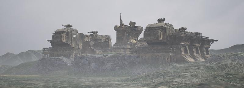 Unreal Abandoned Base 2