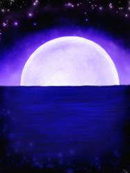 Moon Rising by Elleyena-Rose