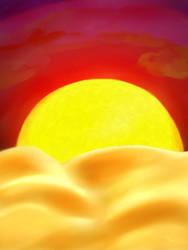 Sunrise by Elleyena-Rose