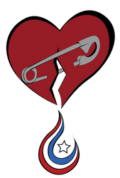 Our Hearts Shed American Tears - Basic by Elleyena-Rose