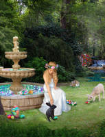 Eoster's Garden by Elleyena-Rose