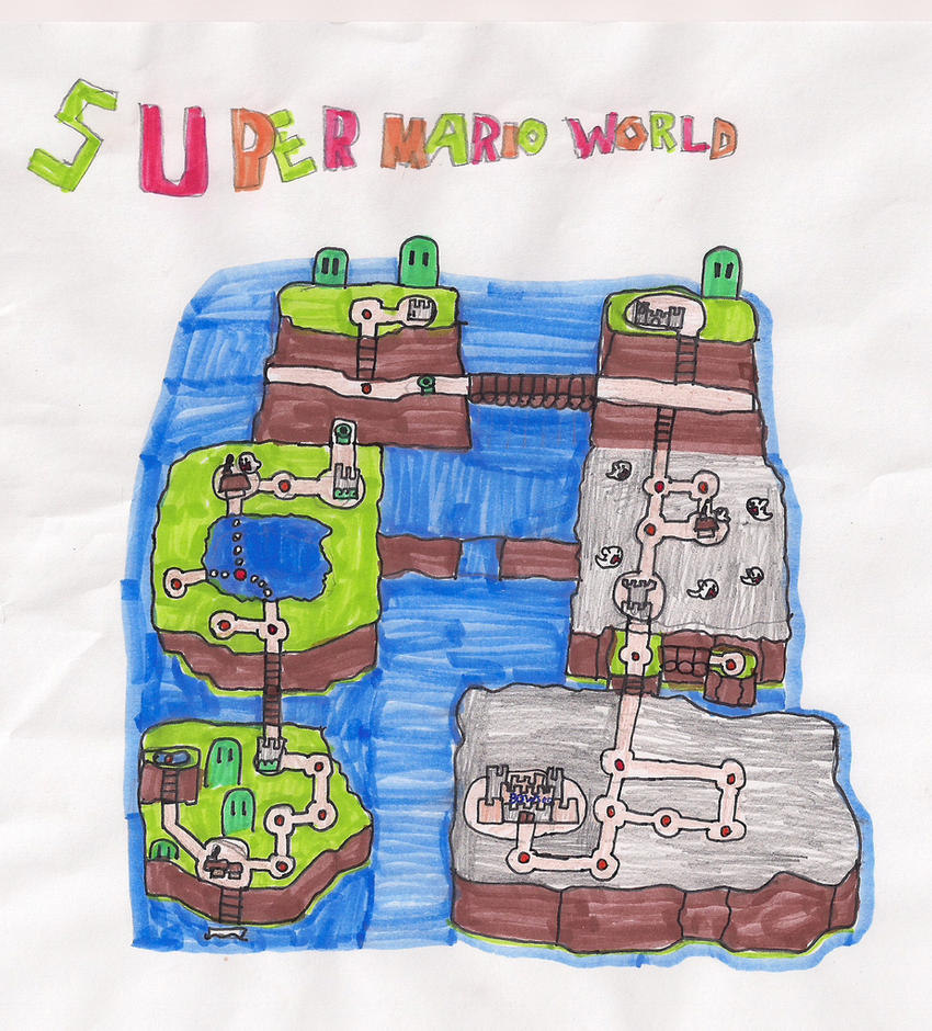 Super mario world custom map by oscarman348 on deviantart super mario world custom map by oscarman348 gumiabroncs Image collections