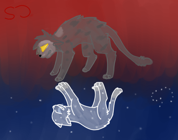 Warrior Cats Thistleclaw And Snowfur Thistleclaw x snowfur warriors