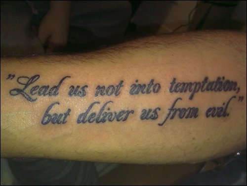 lords prayer by sevenseastattoo on deviantart