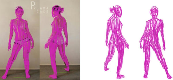 Character Design: Gesture Drawing by PizzaGrace