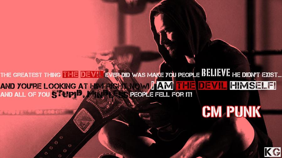 Cm punk devil himself by kgd89 on deviantart cm punk devil himself by kgd89 voltagebd Image collections