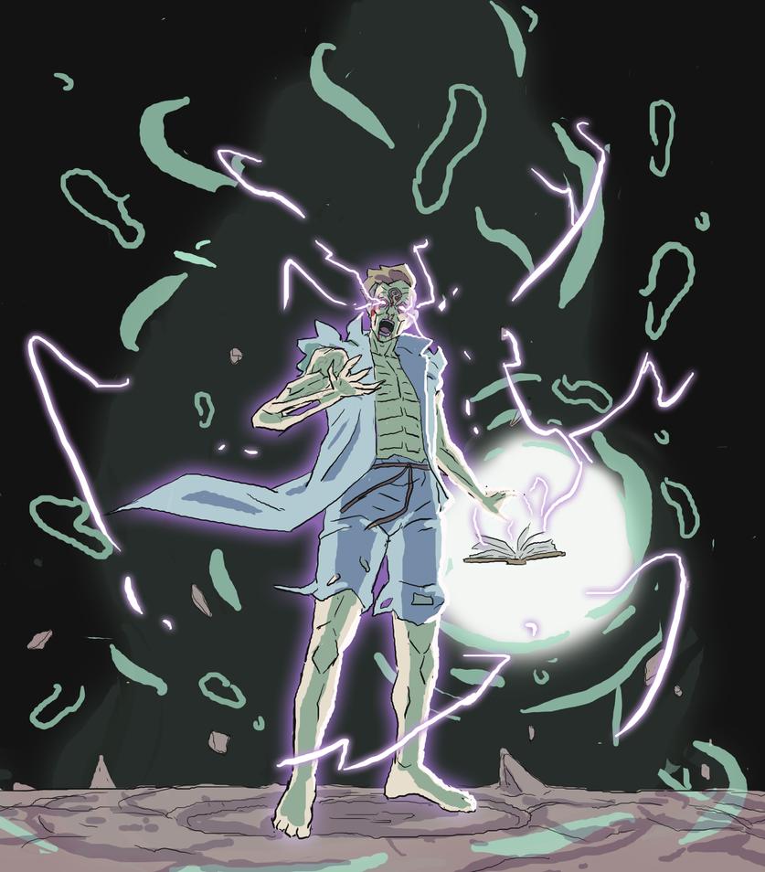 Sorcerer Howard from LASTMAN by Sk8rock69