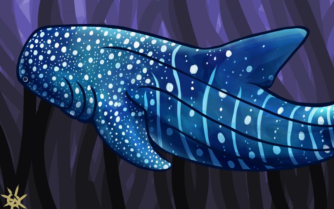 Blue Fishy by sunshineley