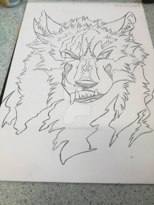 Angry Wolf by BrightShadowWolf31