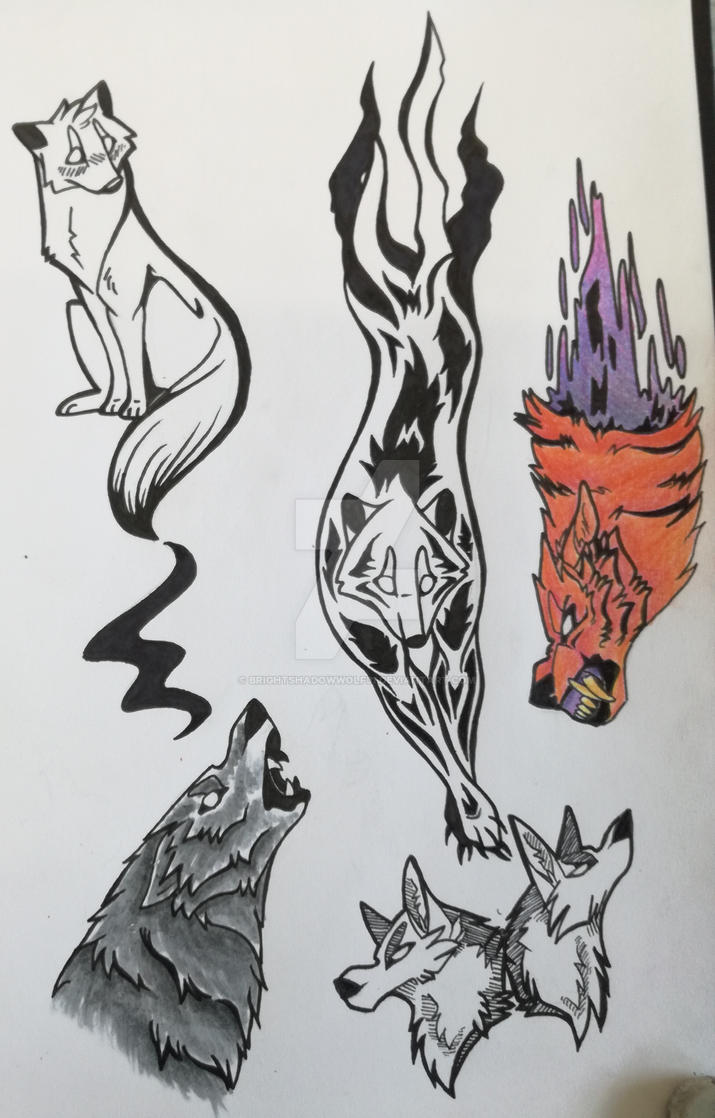 Tattoo Idea's by BrightShadowWolf31