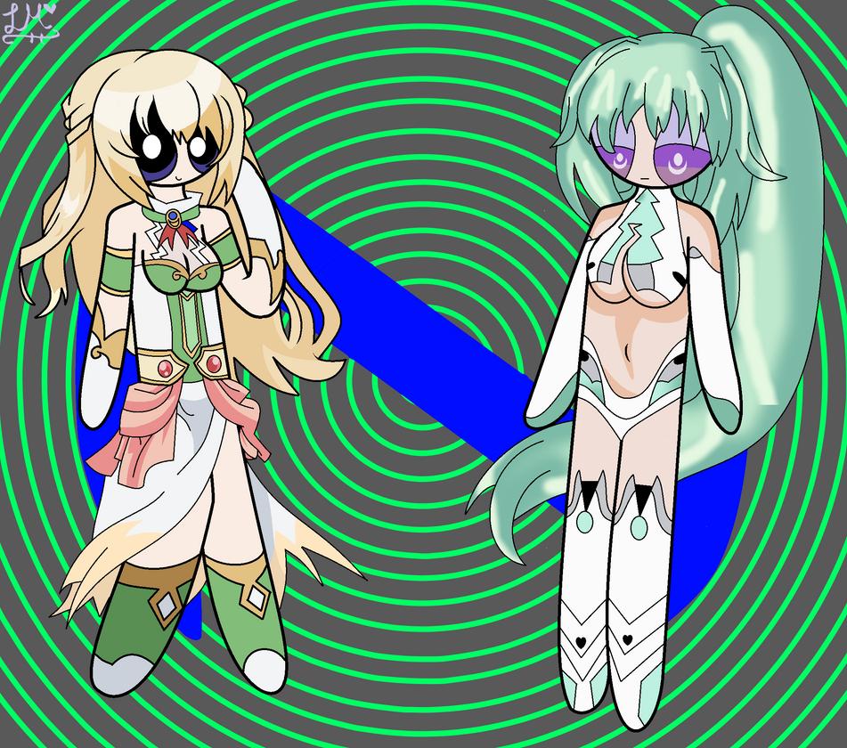 Puffed Vert/Green Heart by LovelyMunchie on DeviantArt