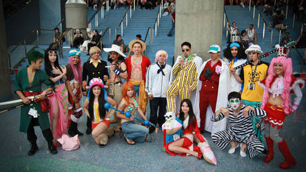 One Piece Time Skip Group by dezutron
