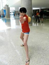 Luffy-ko by dezutron
