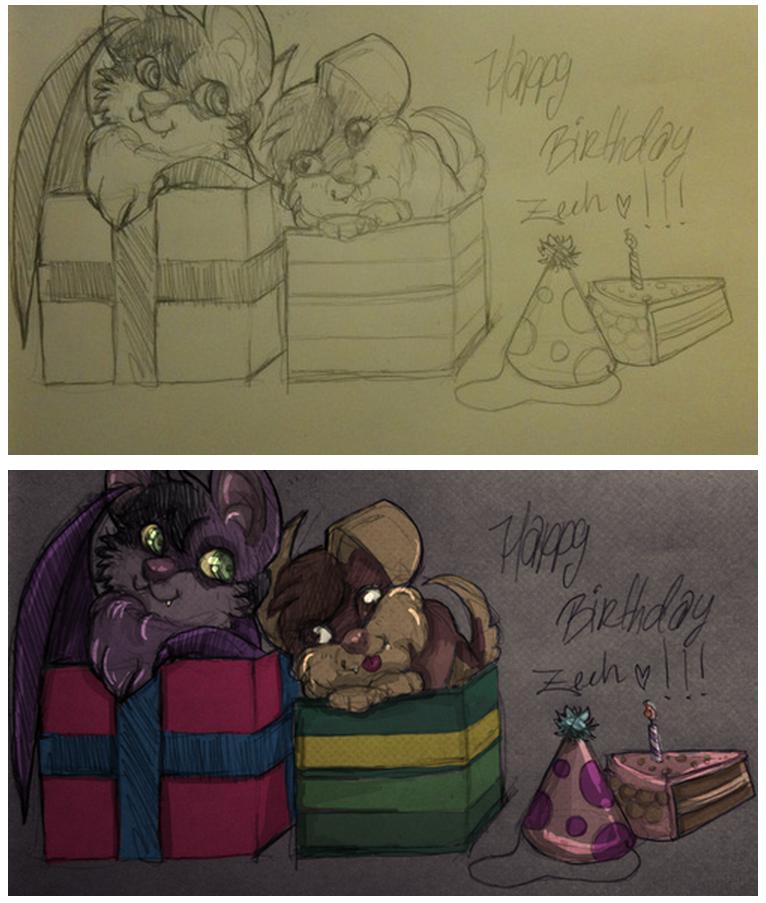 Happy Birthday Zeeh by marpie