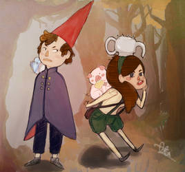 Over the Gravity Falls by marpie