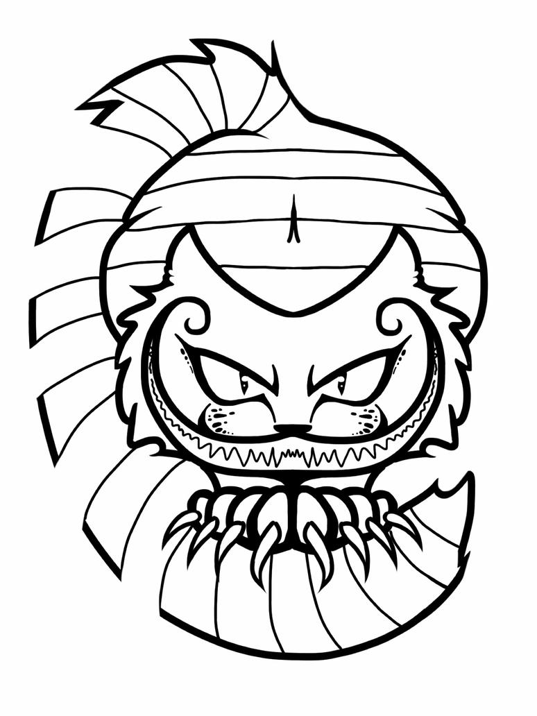 cheshire cat smile alice in wonderland coloring pages furthermore data - Cheshire Cat Smile Coloring Pages