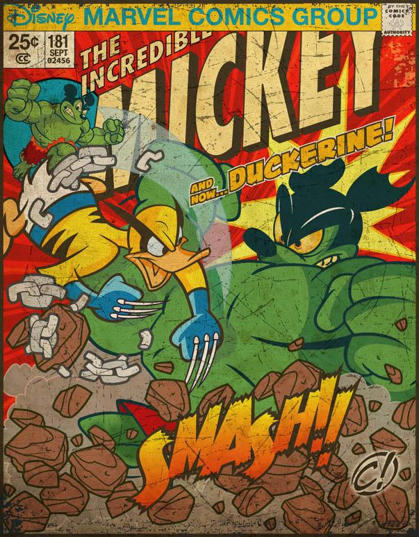 Marvel_Disney Mash-Up by CHUCKAMOKK
