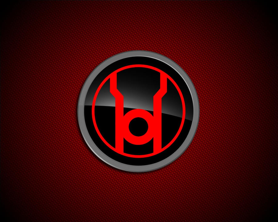Red lantern corps symbol wallpaper - photo#10