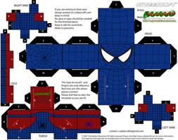 Reverse Spiderman by MysterMDD