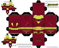 Hulkbuster Iron Man by MysterMDD