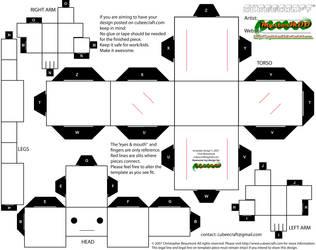 cubeecraft template - fat by MysterMDD