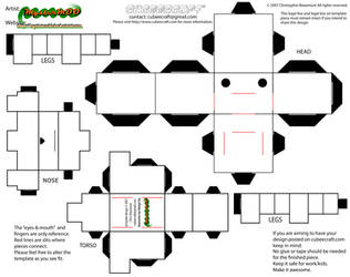 cubeecraft quadroped 'dog' template by MysterMDD