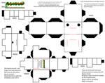 cubeecraft quadroped 'dog' template by MysterMDD