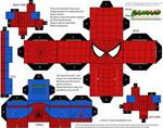 Hex-free Spider-man cubee