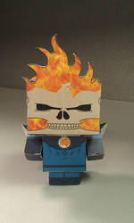 Ghost Rider assembled by MysterMDD
