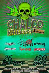 Chalcorriendo - 3ra edicion