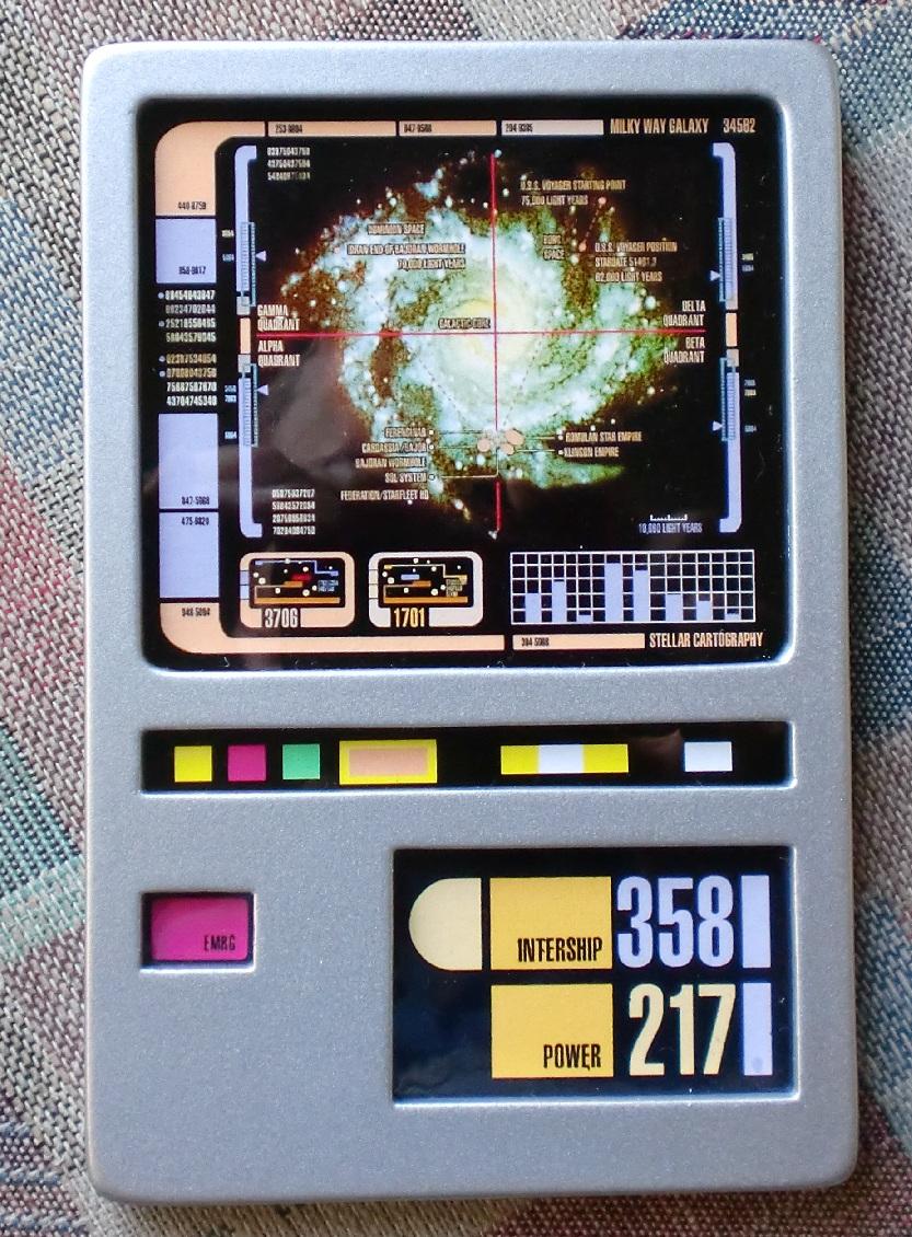 DS9 PADD by Soran1701