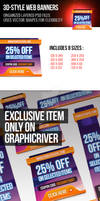 3d Web Banners