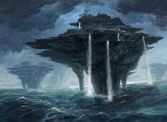 MtG: Island by PeteMohrbacher